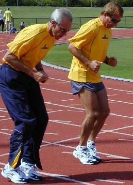 Masters Sprint Drills