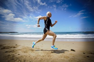 Peter Crombie, World Masters Sprinter, 13 October 2011. Commissioned by Runners World Magazine. Photographed by Dominic Loneragan.